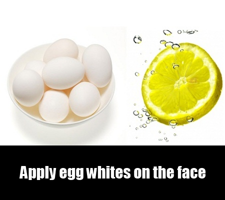 Egg White-Lemon Juice
