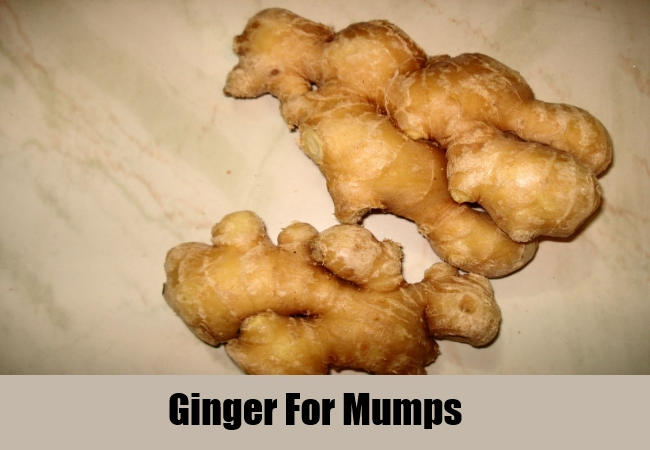 Ginger For Mumps