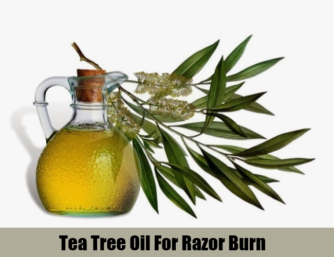 Tea Tree Oil For Razor Burn