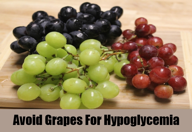 Avoid Grapes For Hypoglycemia