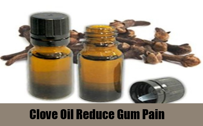 Clove Oil Reduce Gum Pain