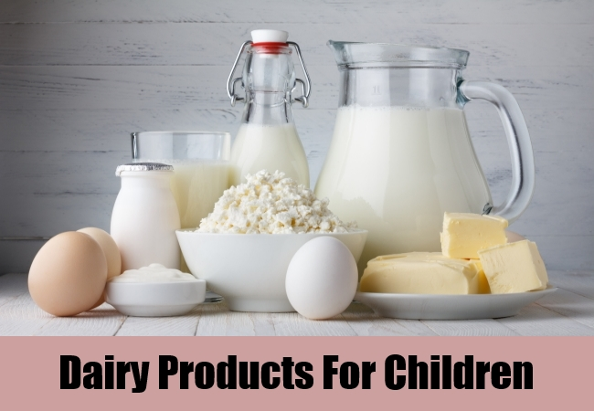 Dairy Products For Children