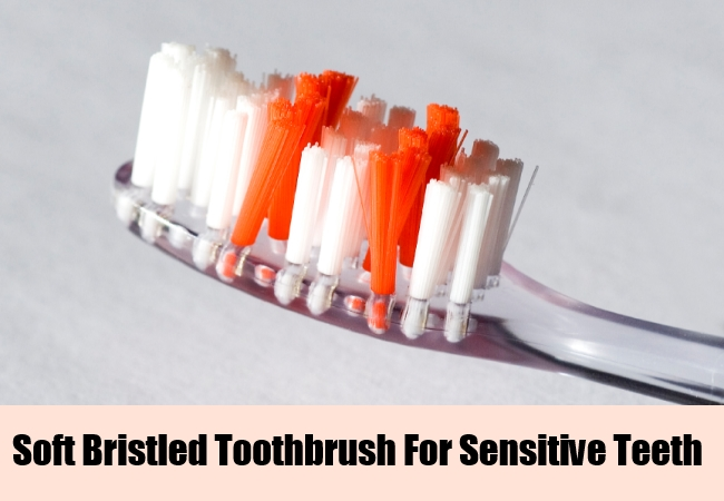 Soft Bristled Toothbrush For Sensitive Teeth