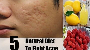 Natural Diet To Fight Acne