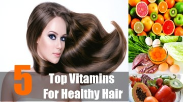 Top Vitamins For Healthy Hair