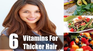 Vitamins For Thicker Hair