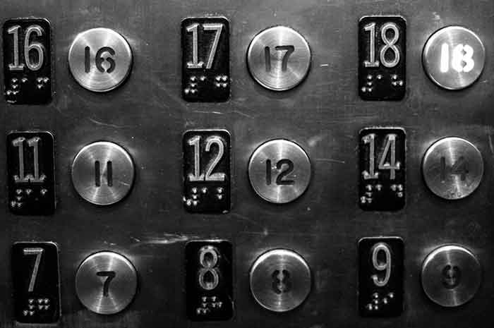 ElevatorButtonsNoThirteenImage