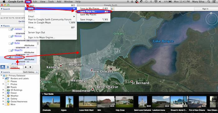 Saving A KML File from Google Earth for Google My Maps - Search Influence