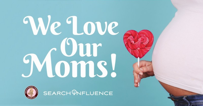 Breastfeeding-Friendly Workplace Champion Mother's Day Image Search Influence
