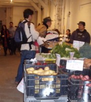 Park Slope Indoor Farmers Market, interior