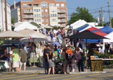 farmers market in Charlottesville, Virginia