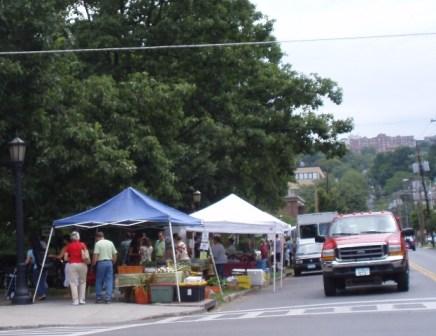 farmers market in Ithaca, NY