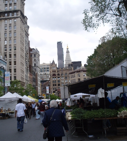 Union Square Greenmarket 05/11/11