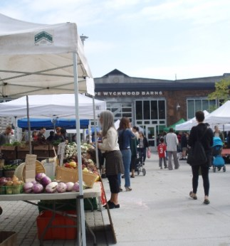 Green Barn Farmers Market, Toronto