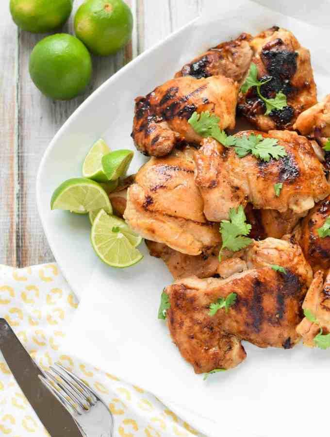 Ginger Honey Glazed Chicken