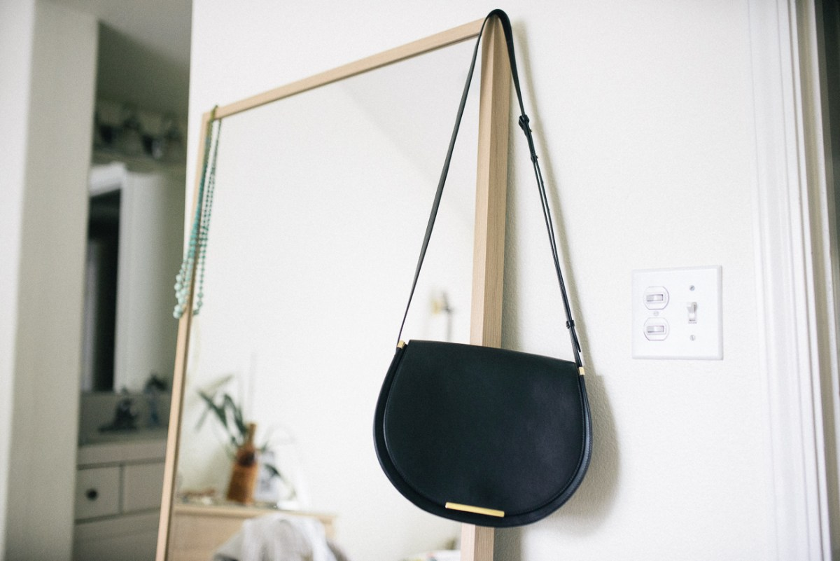 Review: Cuyana Saddle Bag