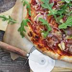 Grilled Pineapple, Prosciutto and Piave Cheese Pizza