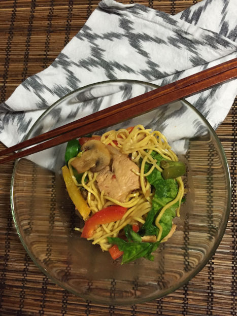Ginger Chicken Stir-Fry (A Seat at the Table)