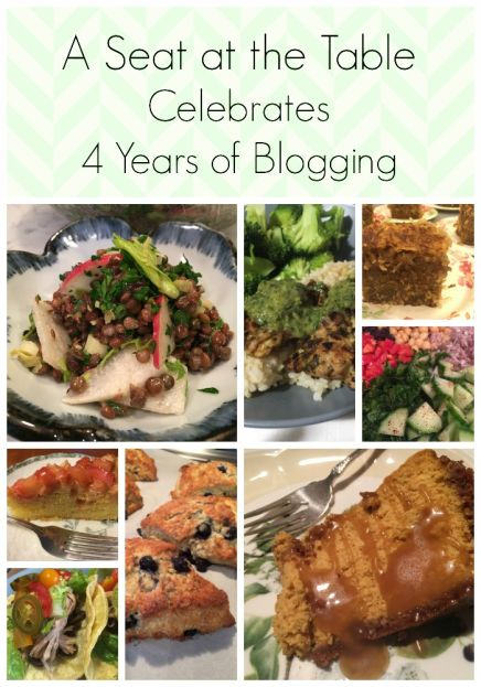4 Year Blogiversary (A Seat at the Table)