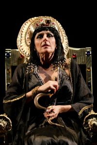 "Amy Thone as Cleopatra in Seattle Shakespeare Company's 2012 production of ""Antony and Cleopatra."" Photo by John Ulman."