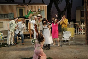 """The cast of Seattle Shakespeare Company's 2013 production of """"The Taming of the Shrew"""" Photo by Chris Bennion."""
