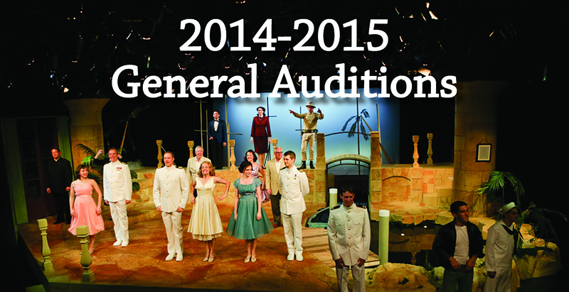 2014-2015 General Auditions