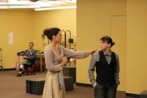 Elinor Gunn as Olivia and Allie Pratt as Viola.