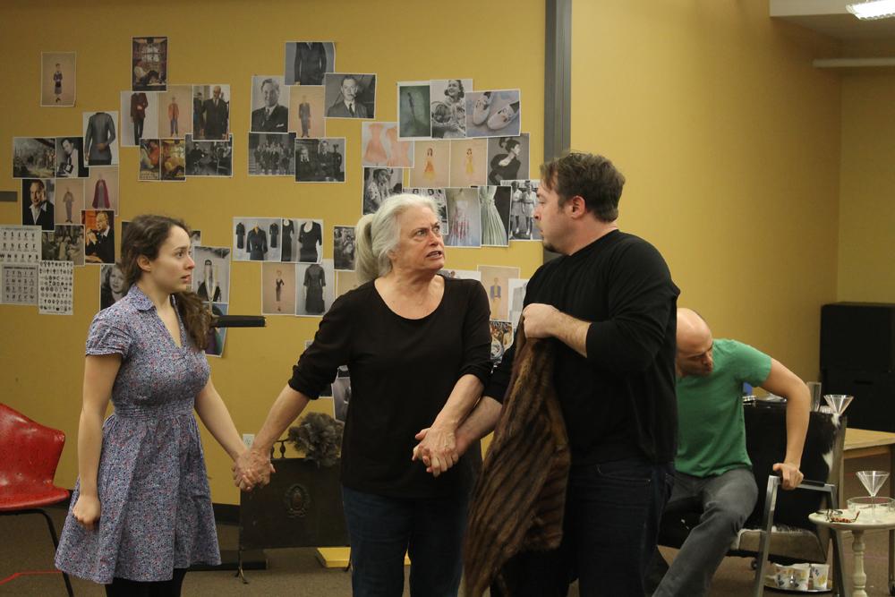Tartuffe Rehearsal