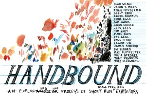 Flyer for Handbound at SOIL