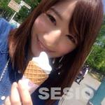 ソフトクリーム食べるアプリの美香