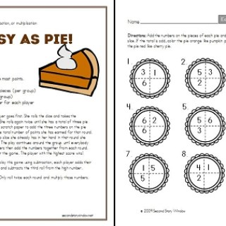 Freebie: Easy as Pie Game