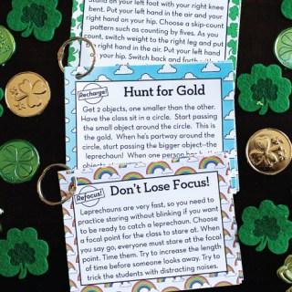 St. Patrick's Day Brain Breaks
