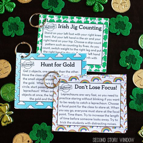 12 FREE St. Patrick's Day Brain Breaks