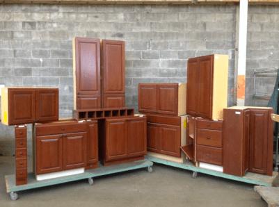 14 Piece Cherry Cabinet Set #407560