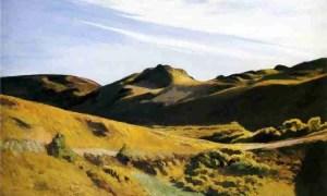 The camel's hump, por Edward Hopper