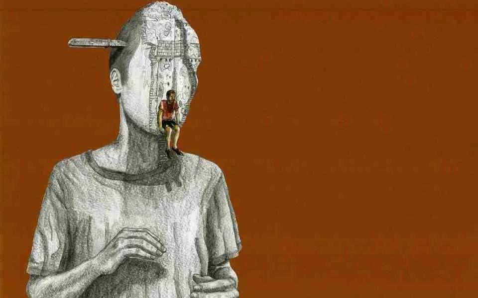 En mitad del expolio, ilustración por El Guardabosques