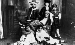 Imagen del archivo del carnaval de Huelva. Retrato de finales del S.XIX