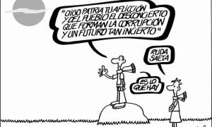 viñeta de Forges en El País