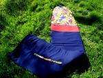 Boardbag Secretos Beach mod. Blue flowers