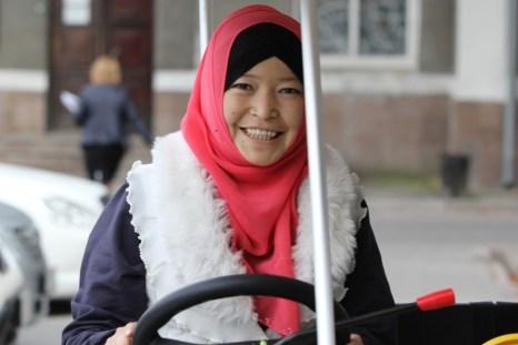 Woman in Bishkek, Kyrgyzstan