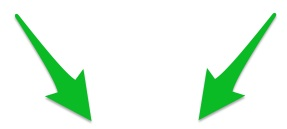 Double Green Arrows (Skitch)