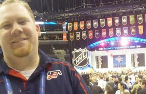 NHL Draft - Jer at the Draft (banner)