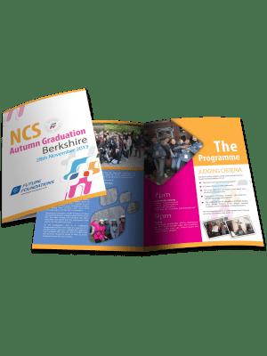bi-fold brochure design