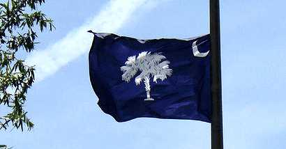 South Carolina Flag Cropped