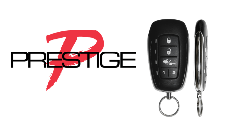 Prestige introduces new Long Range Two-Way LED Remote Start & Keyless Entry System