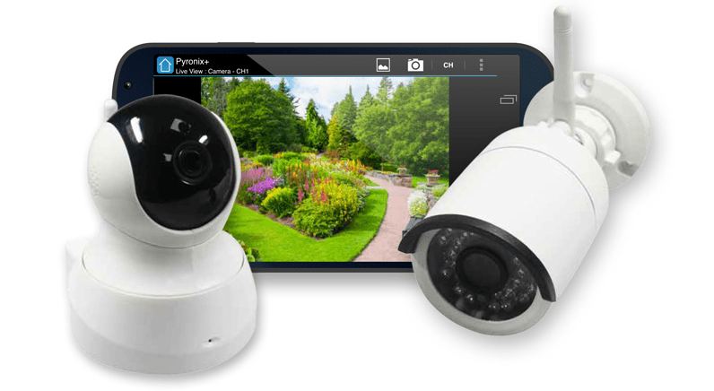 HomeControl+ Cameras: taking home monitoring to another level