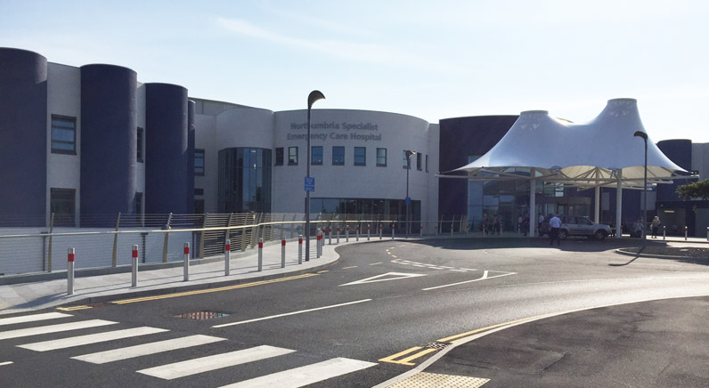 SPIE Scotshield installs fire prevention and security services at Specialist Emergency Care Hospital