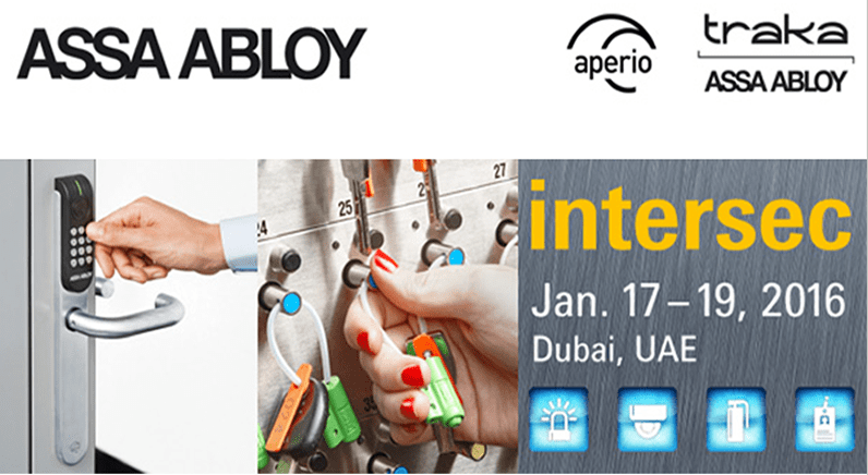 Let´s talk at INTERSEC - visit ASSA ABLOY in Hall 2, Stand G12
