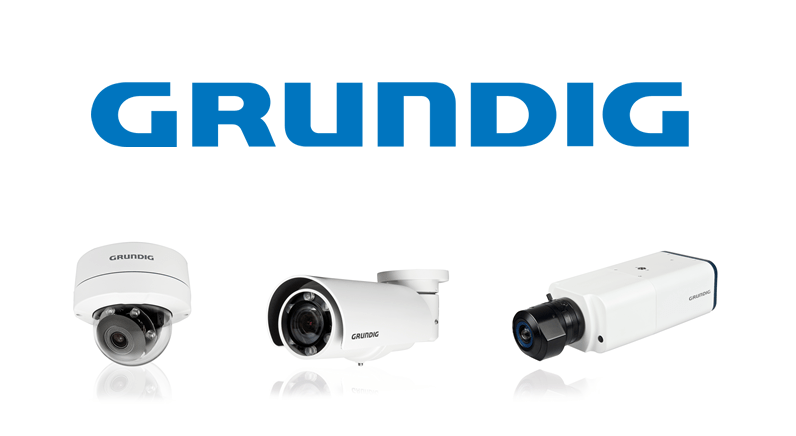 Exceptional low light sensitivity with Grundig's 3MP IP cameras