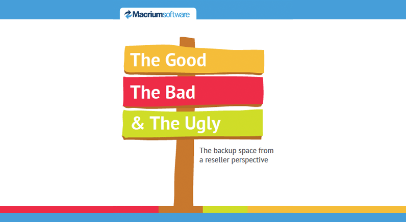 Macrium on Data loss: The Good, The Bad and The Ugly